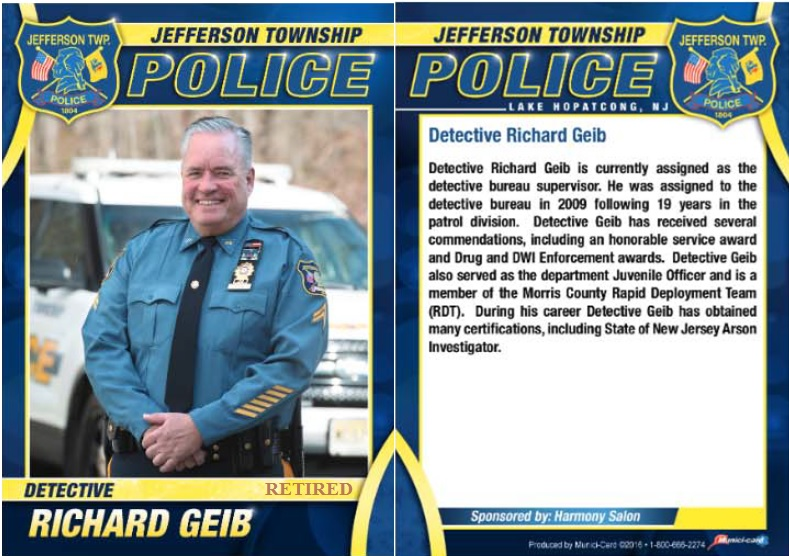 Detective Richard Geib Biography