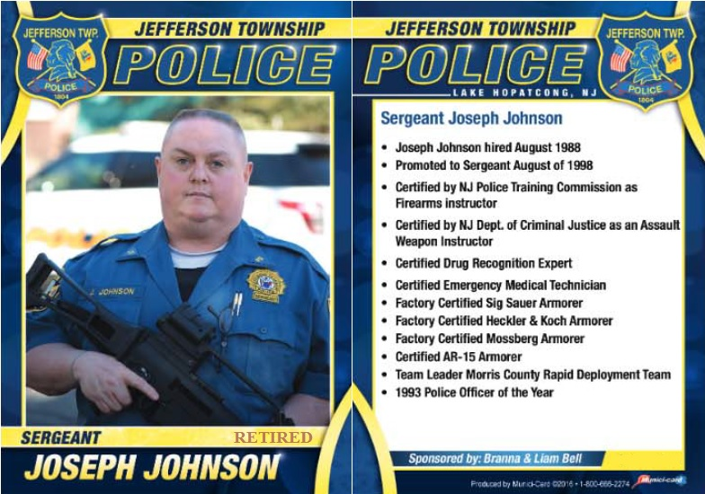 Sergeant Joseph Johnson Biography
