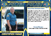 Police Officer Christopher Fabian Biography