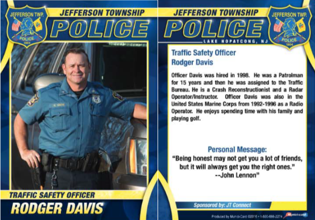 44Police Officer Rodger Davis