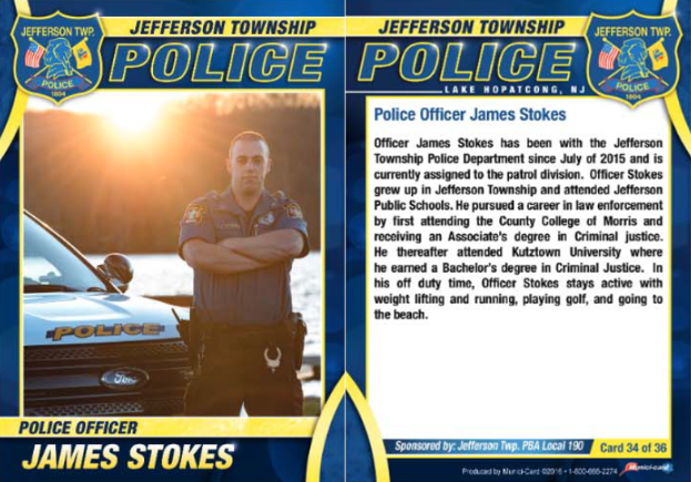 69Police Officer James Stokes