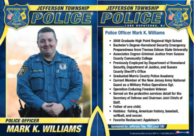 71Police Officer Mark Williams