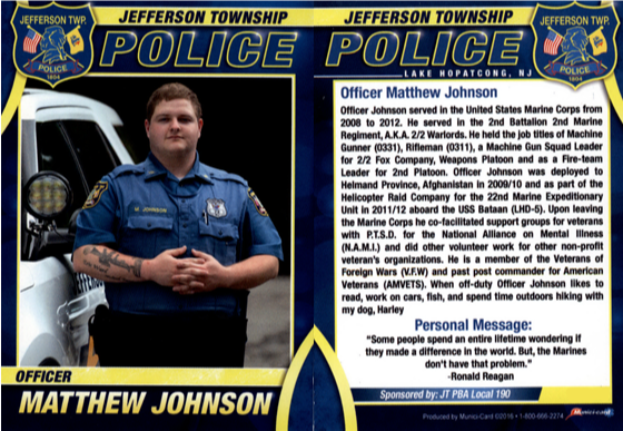 72Police Officer Matthew Johnson