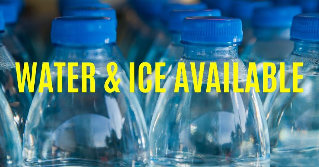 Water & Ice Available