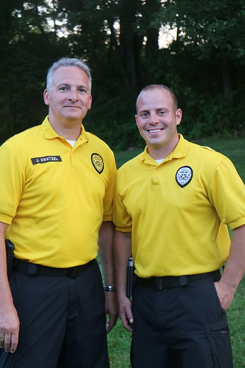 Officers Joe and Chris