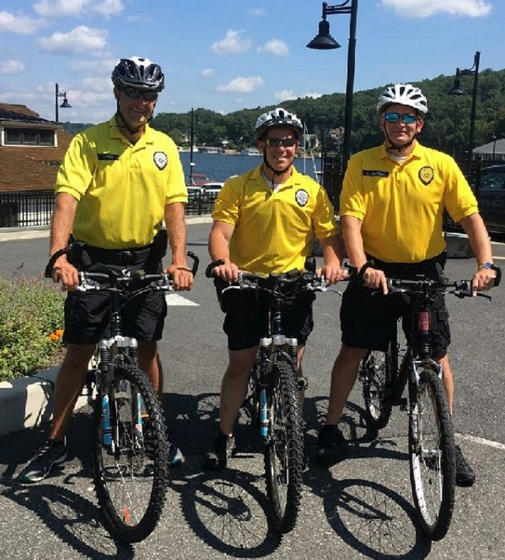 Left to Right: Sergeant Joe Hale, School Resource Officer Chris Fabian, and Sergeant Joe Kratzel